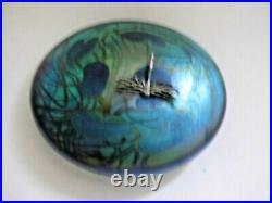 A John Ditchfield Art Glass Sculpture Paperweight
