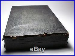 COMPLETE LASSMAN VASART MILLEFIORI PAPERWEIGHT HANDLED BARSET with POOR CASE