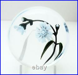 Chris Buzzini Sinuous Chicory Paperweight