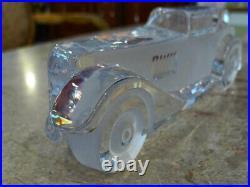 DAUM FRANCE Crystal Classic CAR Vintage