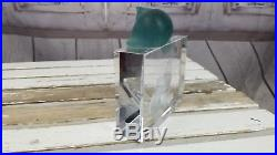 Daum RARE retired vintage vtg Cat fish cystal AS IS french france paperweight
