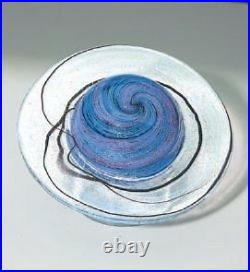 Glass Eye Studio Celestial Rings of Saturn Art Glass with box- made in USA