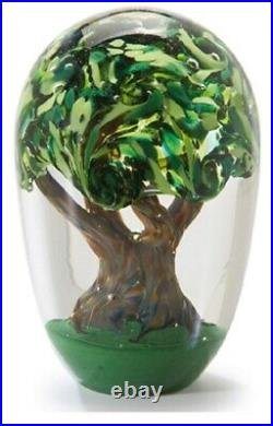 Glass Eye Studio Environmental Series Tree of Life Paperweight 605 New