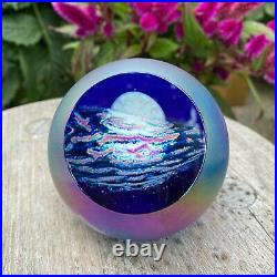 Glass Eye Studio GES Planetary Paperweight Goodnight Moon