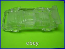 Hofbauer Lamborghini Countach Large Glass Auto / Crystal Car Paperweight