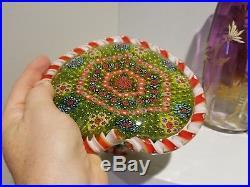 Huge Vintage Basket of Flowers Paperweight Clichy knockoff