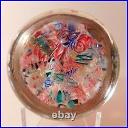 LARGE Antique AMERICAN END OF DAY or SCRAMBLE Art Glass Paperweight (Circa 1890)