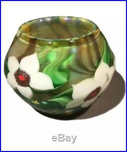 Lundberg Studios Vintage Paperweight Vase