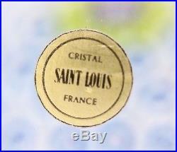 Mesmerizing SAINT LOUIS Vintage CARPET MILLEFIORI Studio Art Glass PAPERWEIGHT