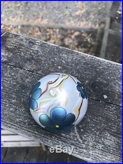 Mint Vintage Signed Orient & Flume Iridescent Paperweight