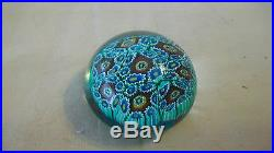 Murano Venetian Art Glass Paper Weight, Flowers or Coral from Italy, Vintage