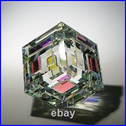 NEW Optic Crystal Paperweight MARVEL direct from the Artist Ray Lapsys
