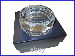 New Ralph Lauren Home Collection K9 Glass Modern Crystal Desk Paperweight in Box