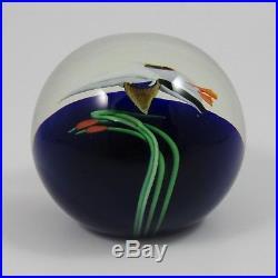 Orient and Flume Vintage Stunning Glass Mallard Duck Paperweight Lampwork