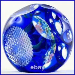 PERTHSHIRE Presse-papier SULFURE Verrerie Glass Paperweight Scotland/baccarat