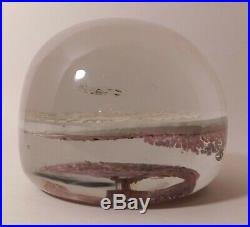 RARE ANTIQUE Millville HOME SWEET HOME ArtGlass Paperweight (Circa Pre 1900)
