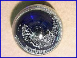 Rare and signed JASON COMPAGNI Huge Dichroic Vortex Marble = 2 3/8 diameter
