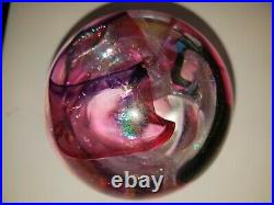 Robert W Stephan Vintage Dichroic Paperweight Large Perfect Condition