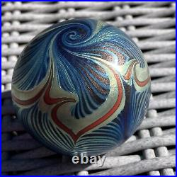Steven Correia Vintage Signed Glass Paperweight