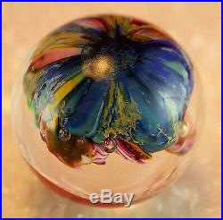 VINTAGE DOUG SWEET GLASS MARBLE Karuna Glass RARE SIGNED Sweet