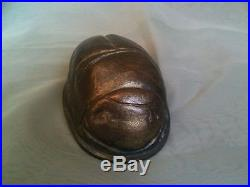 VintageFIRST TIFFANY BEETLE L. C. Tiffany Author Henry Winter Bronze Paperweight