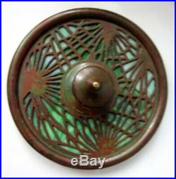 Vintage 1910 Tiffany Studios New York Pine Needle Favrile Glass Paperweight