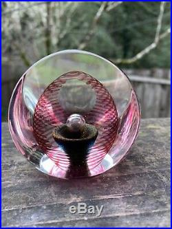 Vintage 90 Correia Signed Limited Edition Paperweight