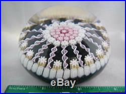 Vintage Art Glass- Perthshire Paperweight- Millefiori Canes- P Middle Cane- #226
