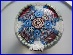 Vintage Art Glass- Perthshire Paperweight- Millefiori- Dated Bottom Cane- #234