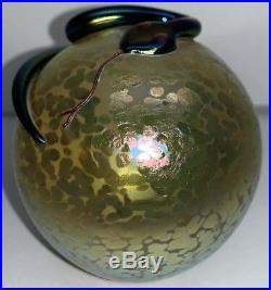 Vintage. CORREIA SNAKE PAPERWEIGHT 3, Signed, WSGS 4.87.7
