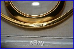 Vintage Hermes Loupe Oeil Cleopatre Magnifying Glass Paperweight Authentic