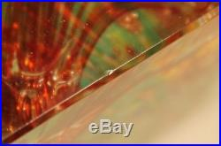 Vintage MURANO Art Glass Tropical Fish Aquarium Sculpture Paperweight Italy