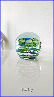 Vintage Ola Hoglund Studio Art Glass Paperweight Sculpture-Exceptional