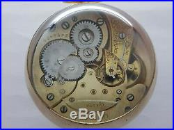Vintage Omega Magnified Glass Baseball Watch Paperweight Working Very Rare