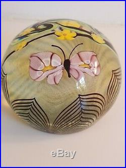 Vintage Orient & Flume Butterfly Paperweight