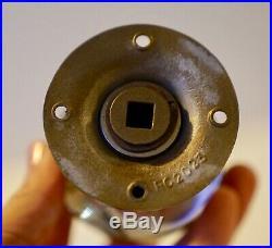 Vintage Paperweight Hand Blown Art Glass Door Knob Welldone Millefiori 3 1/4 H