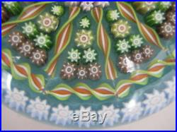 Vintage Perthshire Paperweight Close Pack Millefiori Cane Made In Scotland 3