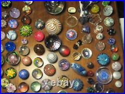 Vintage Quality Art Glass- Murano ClosePack Paperweight- Millefiori Canes- #68