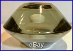 Vintage Salviati Murano Glass Paperweight 3 Tall Mid Century Art CK0497