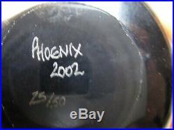 Vtg William Manson Phoenix Limited Edition Millefiori Domed Paperweight 25/50