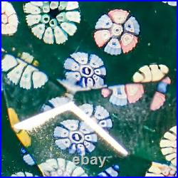 Whitefriars LE Smithsonian 1980 Diamond Faceted Paperweight